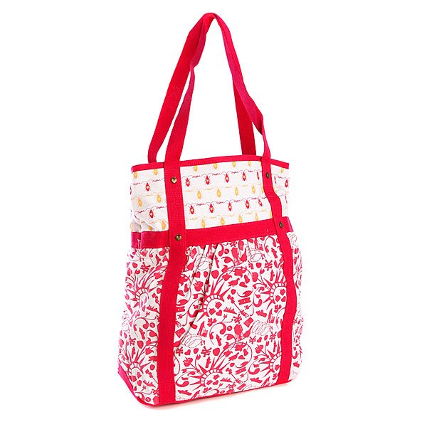 Сумка Zoo York Mix It Up Shopper Raspberry