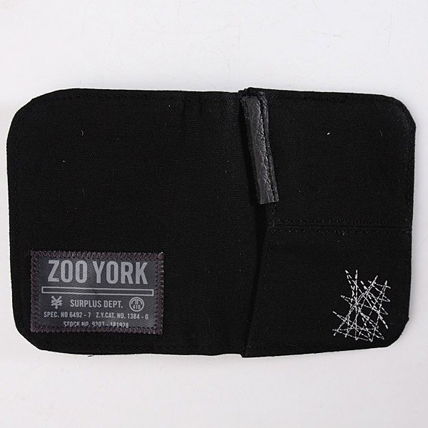 Кошелек Zoo York Distressed Black
