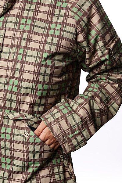 Куртка женская Dickies Washingtina Lumber Mink/Cof Bean