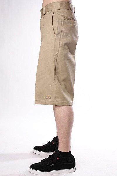Классические мужские шорты Dickies 15 Work Short W/Cell Phone Pocket Khaki