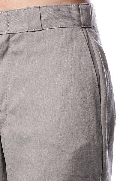 Классические мужские шорты Dickies 15 Work Short W/Cell Phone Pocket Silver Grey