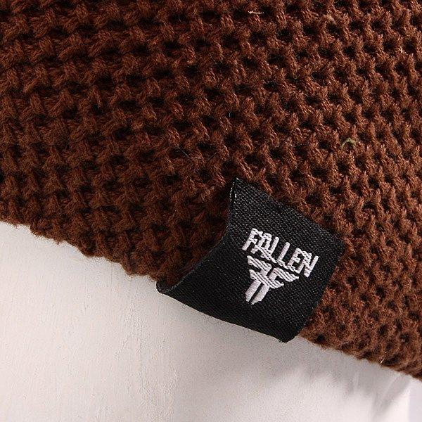 Шапка Fallen Buffalo Knits Beanie Chocolate