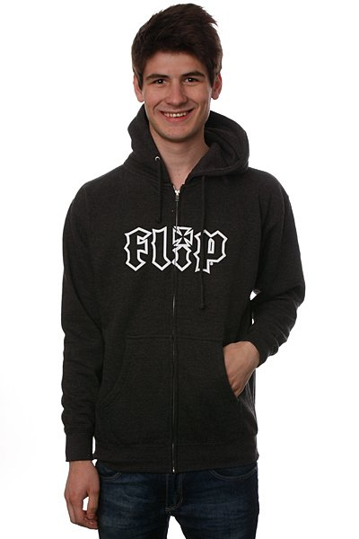Толстовка Flip Hkd Outline Charcoal Heather