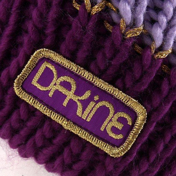 Шапка женская Dakine Sadie Purple / Grey