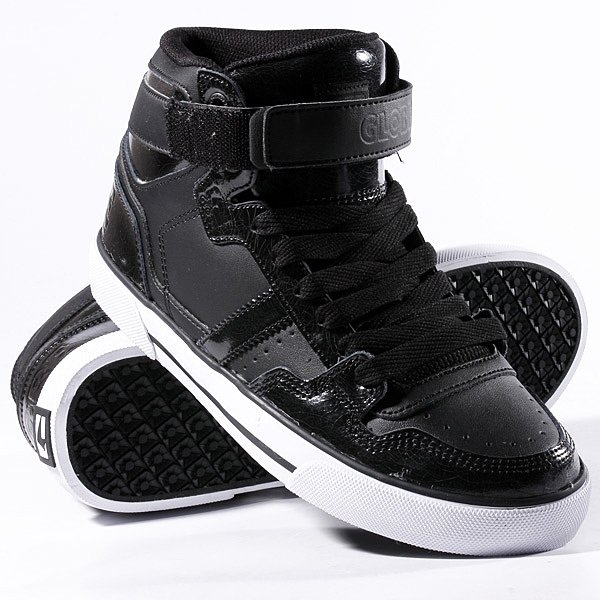 Кеды высокие Globe Superfly-Vulcan Black Cracked