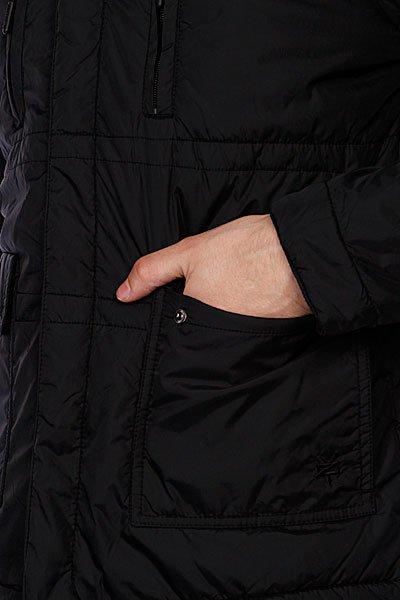 Куртка Zoo York Nylon Biker Jacket Black