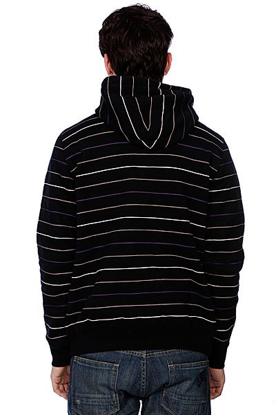 Толстовка Zoo York Les Crew Zip Up Black