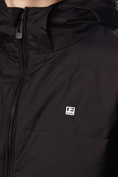 Куртка пуховик Globe United Jacked Black