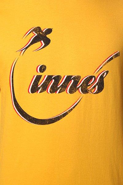 Футболка Innes Flighted Mustard
