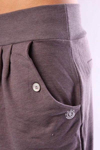 Штаны прямые женские Element Slouch Charcoal Heathe