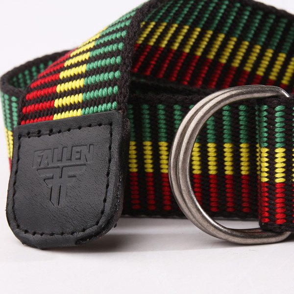 Ремень Fallen D-Ring Belt Rasta