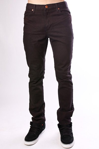 Джинсы узкие Fallen Barrio Slim Jean Black/Brown