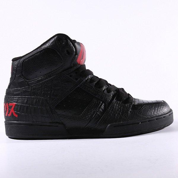 Кеды высокие Osiris Bronx Slim Black/Icon