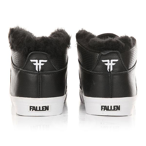Кеды утепленные Fallen Forte Mid Fur Black Ops/Shear