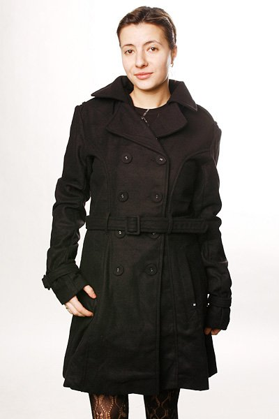 Куртка женская Insight Creeper Trench Wool Black