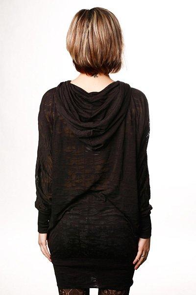 Платье женское Insight Warhol Whinge Hoodie Black