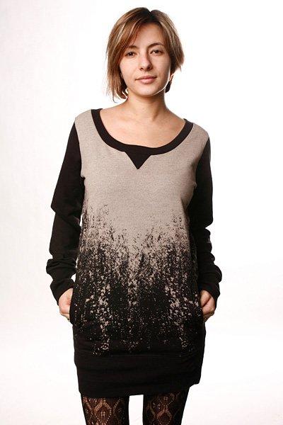 Платье женское Insight Charlie Sweater Dress Black