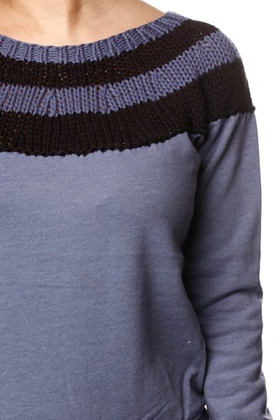 Толстовка женская Insight Kind Heather Jumper Sugar Grap