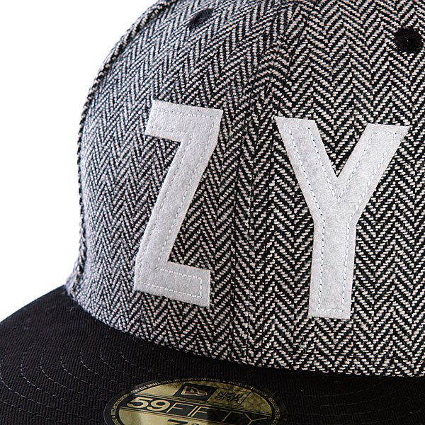 Бейсболка New Era Zoo York Ellis Fitted NewEra Black
