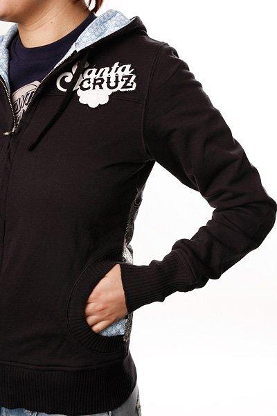 Толстовка женская Santa Cruz Muse Fitted Black