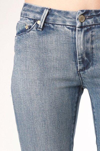 Джинсы узкие женские Insight Beanpole Skinny Stretch Mid Blue Stone
