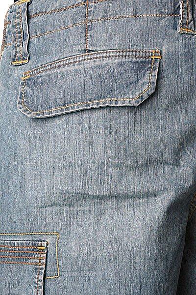 Джинсовые шорты Quiksilver Kinney Stone Grey Aspen Gold