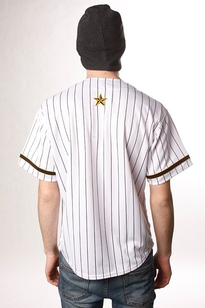 Рубашка Nor Cal Wild Pitch Baseball Jersey White/Black