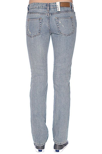 Джинсы узкие женские Zoo York Skinny Fit Denim Super Lt Dest