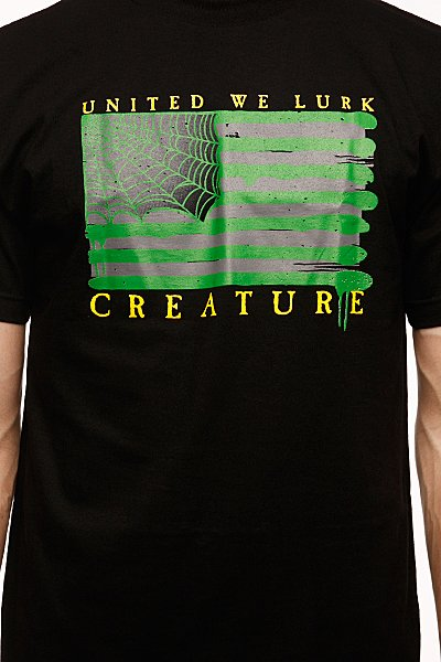 Футболка Creature Lurk Nation Black