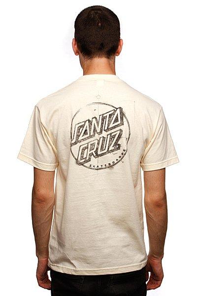 Футболка Santa Cruz Sketchy Dot Cream