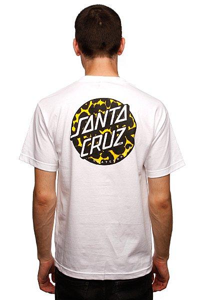 Футболка Santa Cruz Primal Dot White