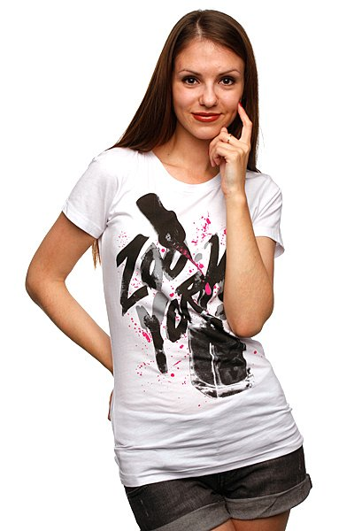 Футболка женская Zoo York Girls Night Out Tee White
