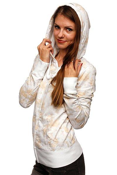 Толстовка классическая женская Zoo York Basics Hood Splotchy Print