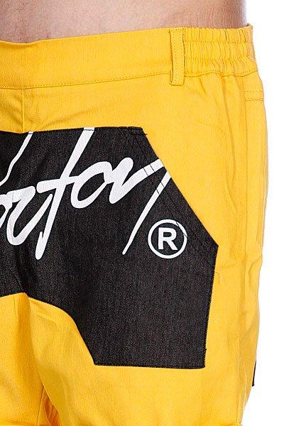 Шорты Bat Norton Unisex Basic Shorts Yellow