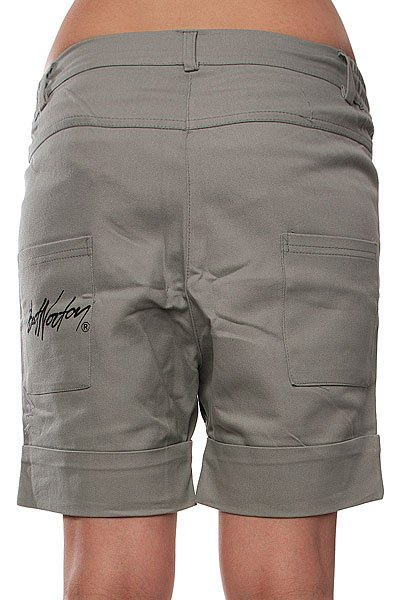 Шорты женские Bat Norton Unisex DPS Grey