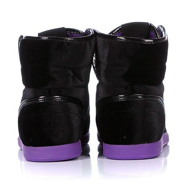 Кеды высокие женские Osiris Soha Black/Purple/Velvet