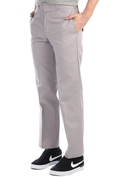 Штаны прямые Dickies Original 874 Work Pant SV Silver grey
