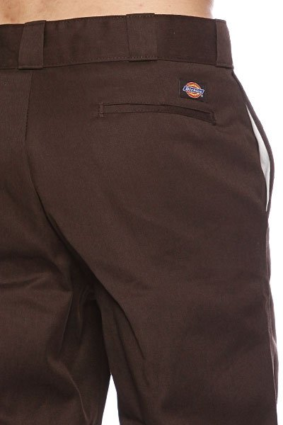 Штаны прямые Dickies Original 874 Work Pant Db Dark Brown