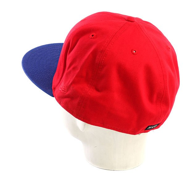 Бейсболка New Era Huf Felt Circle NewEra Scarlet
