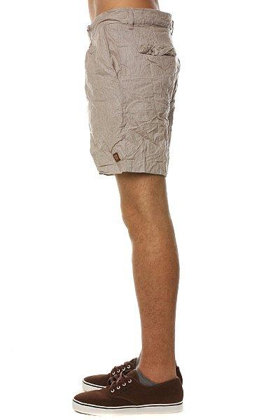 Классические мужские шорты Insight Satorial Mid Sand Slub