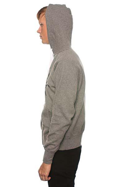 Толстовка Fallen Turf Zip Hood Heather Grey/Black
