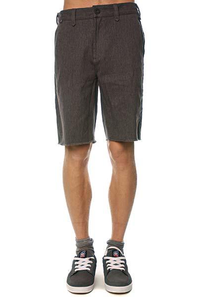 Джинсовые мужские шорты Fallen Chino Short Charcoal Heather