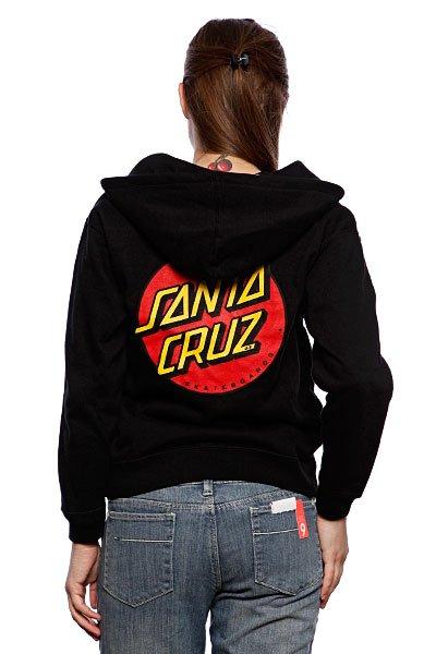 Толстовка женская Santa Cruz Classic Dot True Black