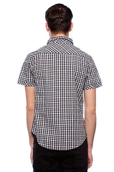 Рубашка в клетку Zoo York Mercury Re-Up Poplin Black