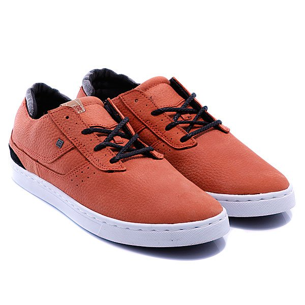 Кеды низкие Globe Comanche Low Rust