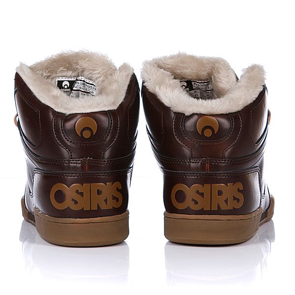 Кеды утепленные Osiris Nyc 83 Shr Brown/Tan/Sand