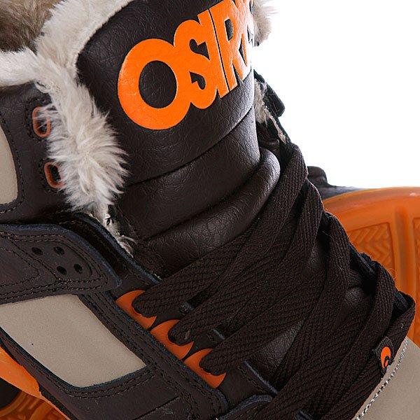 Кеды утепленные Osiris Nyc 83 Shr Brown/Orange/Sher