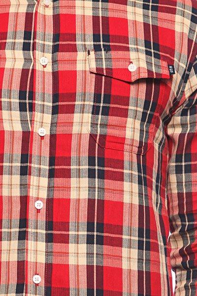 Рубашка в клетку Huf Paddington Red