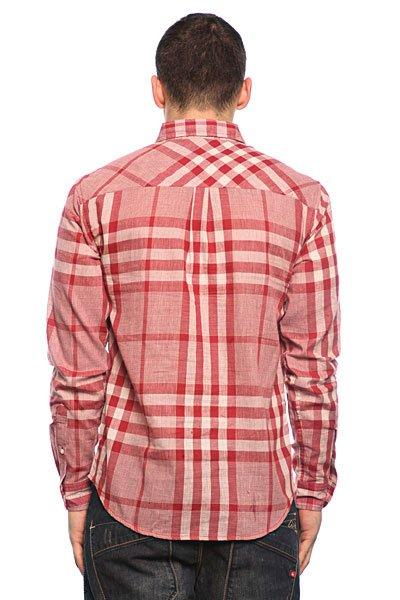 Рубашка в клетку Huf Basset Red