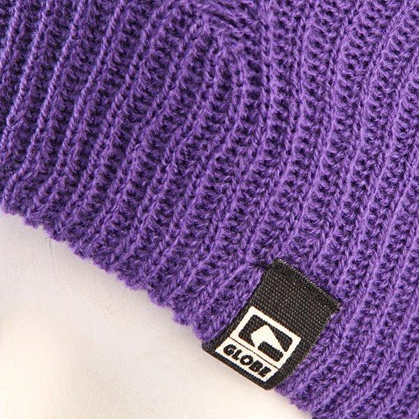 Шапка носок мужская Globe Donovon Beanie Purple